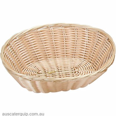 BREAD BASKET-ROUND 230mm POLYPROP