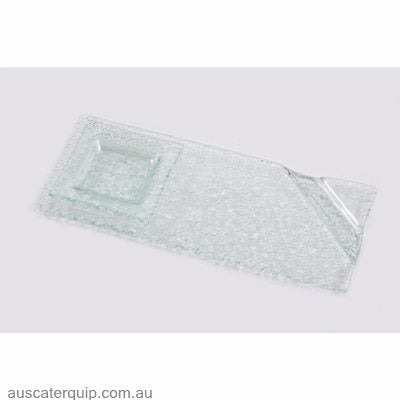 Han OVAL COUPE PLATE 395x290mm CLEAR