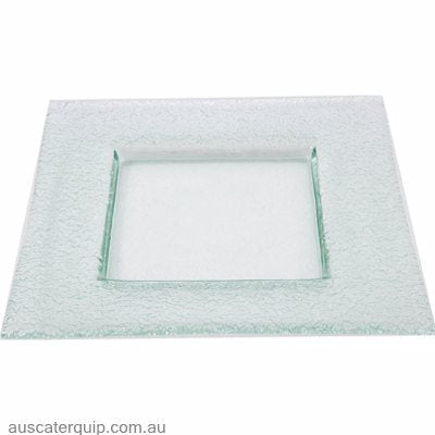 Han SQUARE PLATE-CURVED 360mm CLEAR