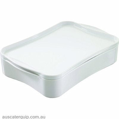 Revol REVOL COOK & PLAY RECTANGLE DISH W/COVER 280x205x85mm