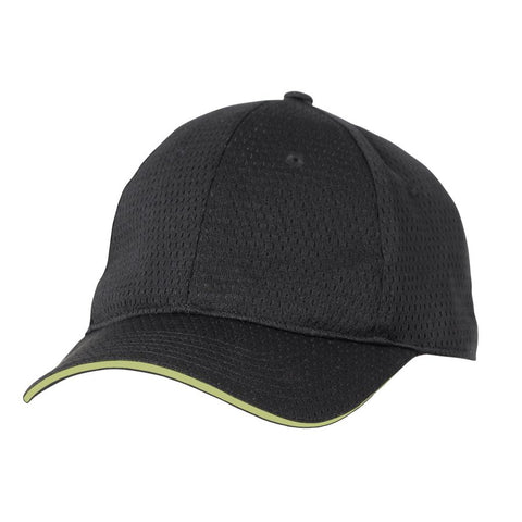 Lime Cool Vent Baseball Cap w/ Trim