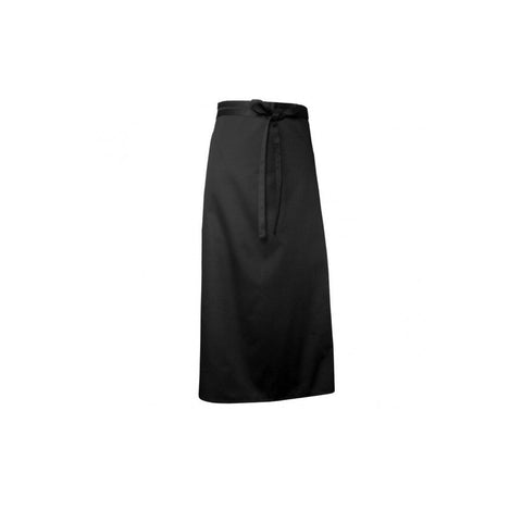 Black Chefs Full Length Apron