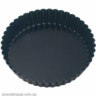 Guery CAKE PAN-ROUND FLUTED 280x50mm LOOSE BASE NON-STICK
