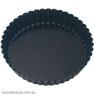Guery CAKE PAN-ROUND FLUTED 100x30mm LOOSE BASE NON-STICK