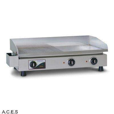 ROBAND 690 mm wide GRIDDLE HOT PLATES 1/2 grooved