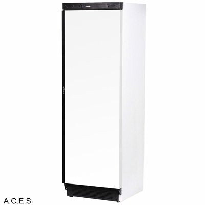 BROMIC Upright Fridge White, Solid Door- 300L