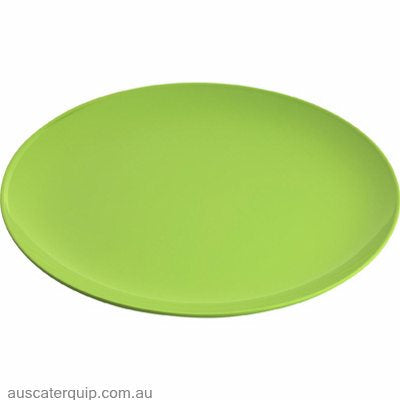 JAB GELATO-LIME GREEN ROUND PLATE COUPE 250mm (STS0854) X6