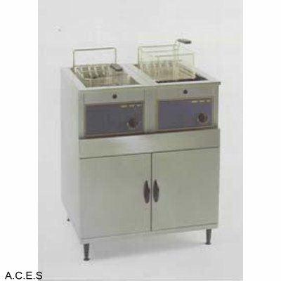 ROLLER GRILL Double Fryer 2 x 16 Litre