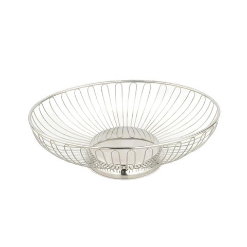 OVAL BASKET 200x145x65mm WIRE 18/10
