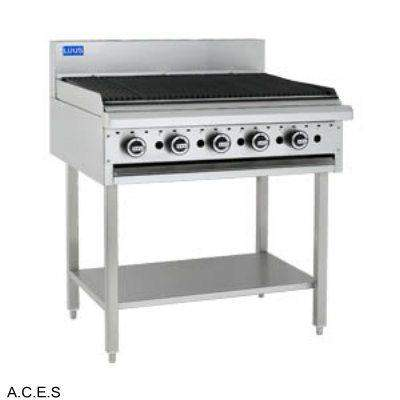 LUUS BARBECUE - 1200 bbq & shelf