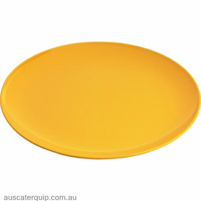 JAB GELATO-YELLOW ROUND PLATE COUPE 250mm (STS0992) X6