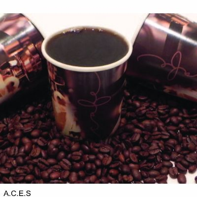 Marinucci Cafe Print Double Walled Coffee cups