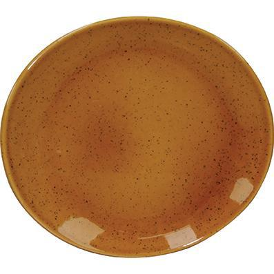 tablekraft ARTISTICA OVAL PLATE-210x190mm HAZELNUT