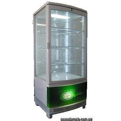 EXQUISITE CounterTop Chiller w/ Light Box w/LED internal