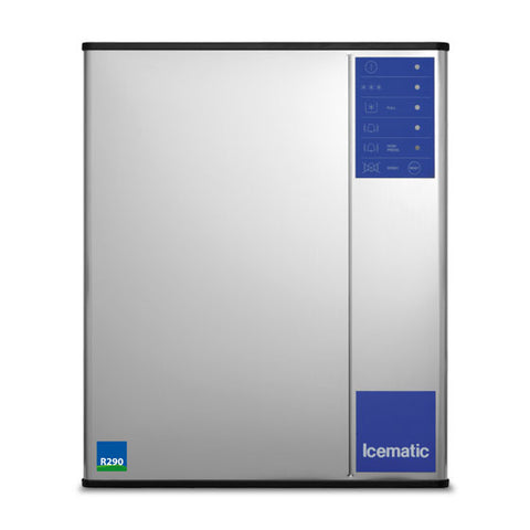 ICEMATIC High Production Slim Line Large Dice Ice Machine ML195-A ECO