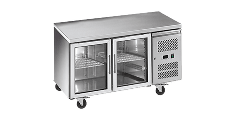 EXQUISITE Under Bench Chillers with Glass Doors 314L