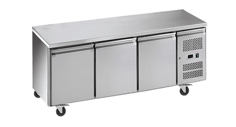 EXQUISITE Under Bench Chillers with Solid Doors 465L
