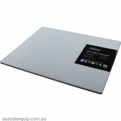 Chef Inox CUTTING BOARD-PP 450x610x12mm WHITE