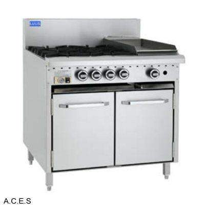 LUUS 4 BURNER & BARBECUE and Gas Oven