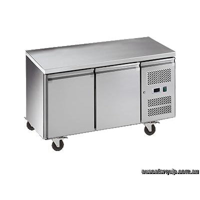 EXQUISITE Snack Size Under Bench Freezer with Solid Doors 260L