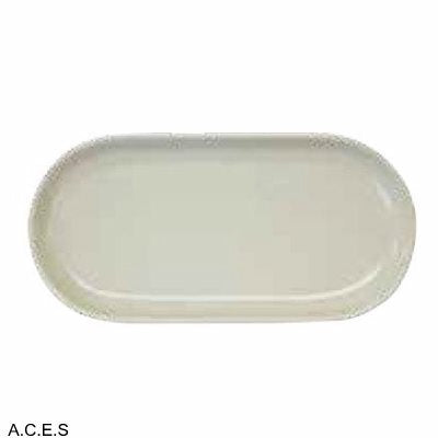 tablekraft ARTISTICA OVAL PLATE, COUPE 300x140mm SAND