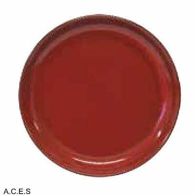 tablekraft ARTISTICA ROUND PLATE-270mm Rolled Edge  REACTIVE RED