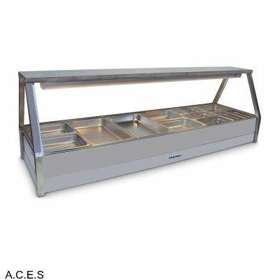 ROBAND COLD FOOD DISPLAY BARS DOUBLE ROW - 12 Pans
