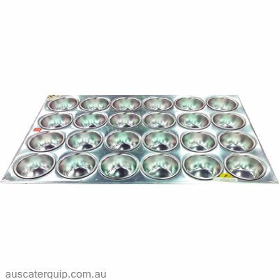 Chef Inox MUFFIN PAN-ALUM 24-CUP PREMIER