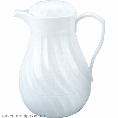 "Kinox INSULATED JUG-PUSH BUTTON 2.0lt WHITE ""CONNOISSERVE"""