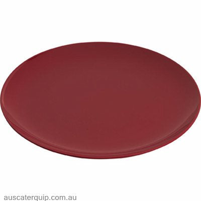 JAB GELATO-RED ROUND PLATE COUPE 250mm (STS0967) X6