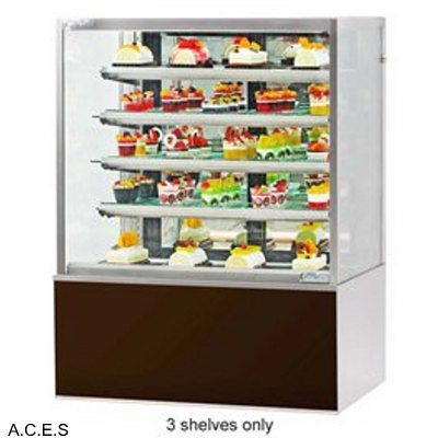 GREENLINE HEATED DISPLAY DELUXE CABINET 4 tier  900mm wide