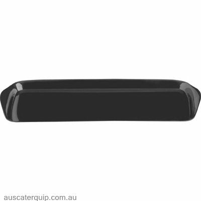 JAB RECTANGULAR PLATTER W/FLARED HDLE 380mm BLACK (STS0237)