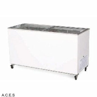 BROMIC Flat Glass Chest Freezer - 491L