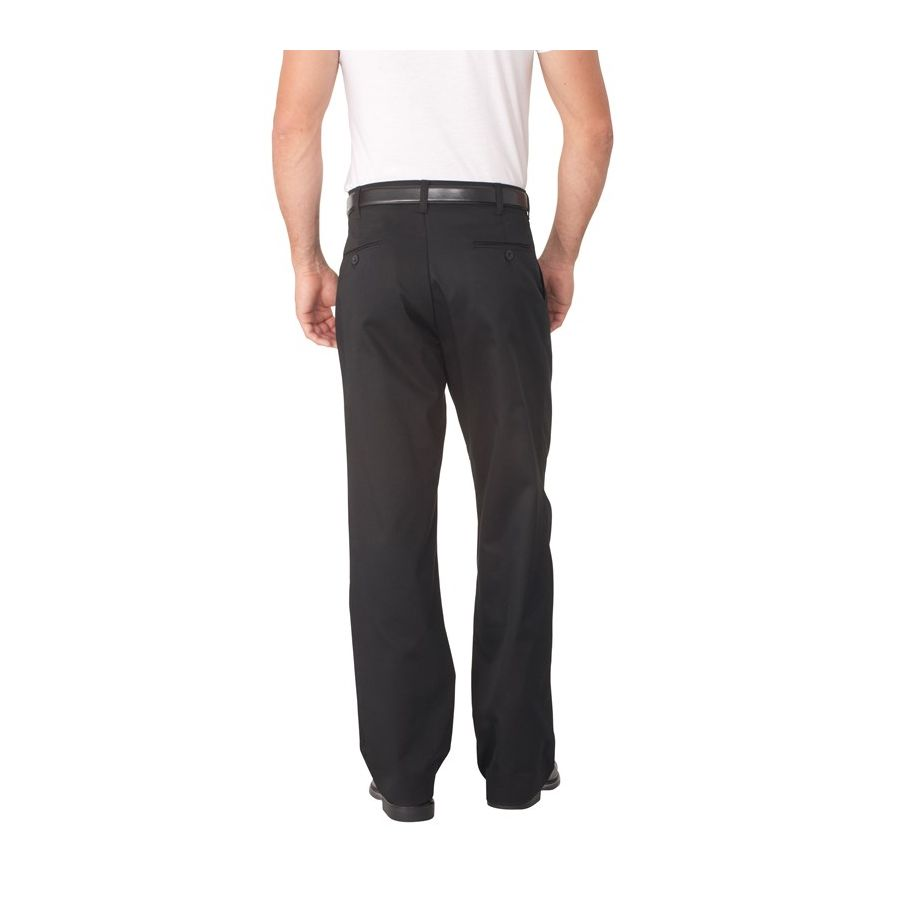 Black Basic Chef Pant