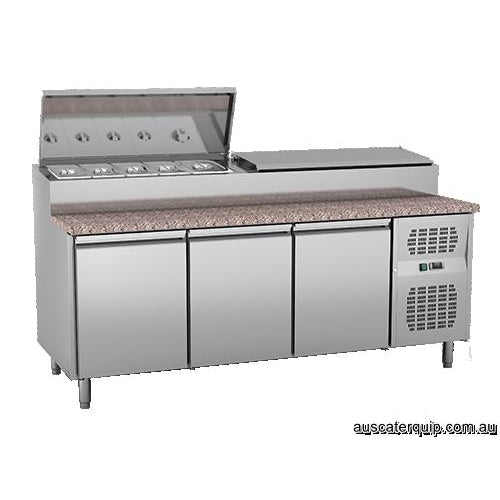 EXQUISITE Stainless Steel Top Chest Freezers 650L