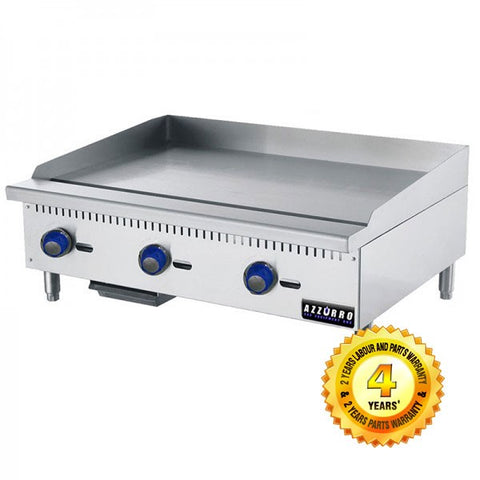 BL-HP3 Azzurro 3 Gas Burner Griddle/ Hot Plate