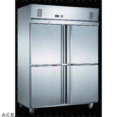 MITCHEL GN Stainless Steel 2 Door Refrigerator