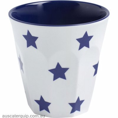 JAB NAVY BLUE STARS ON WHITE  ESPRESSO CUP 200ml (STS0949)