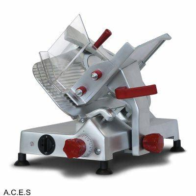 NOAW SLICERS - EXTRA HEAVY DUTY - BELT DRIVEN -250mm