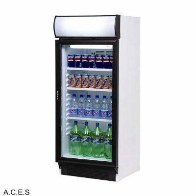 BROMIC Display Fridge w/light box, 1 door- 215L