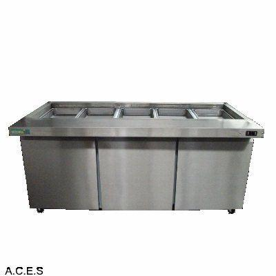 MITCHEL  684 litres Noodle/Juice Preparation Bar with 3 doors