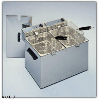 ROLLER GRILL Double Fryer 5 Litre