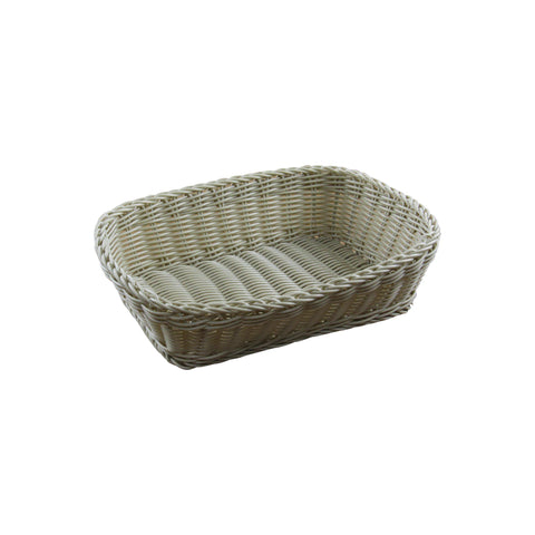 BREAD BASKET POLYPROPYLENE RECTANGLE 400x340x100mm