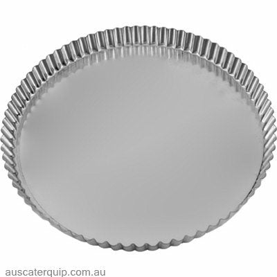Guery QUICHE PAN-ROUND FLUTED 120x18mm LOOSE BASE