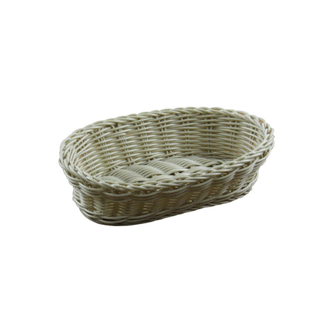 BREAD BASKET POLYPROPYLENE OVAL 300x225x75mm