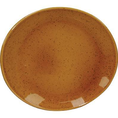 tablekraft ARTISTICA OVAL PLATE-295x250mm HAZELNUT