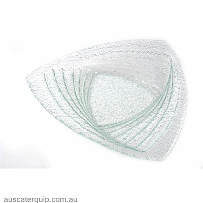Han TRIANGLE DISH 430mm CLEAR
