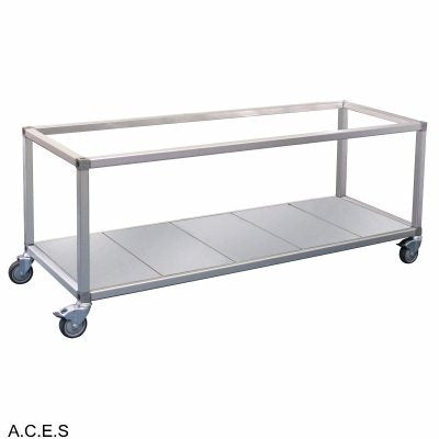 ROBAND FOOD BAR & BAIN MARIE TROLLEYS - TO SUIT DOUBLE ROW UNITS