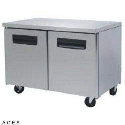 GREENLINE COMPACT BENCH FREEZER 2 Door 1.5M