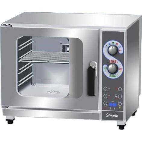 LAVA SIMPLE DIRECT STEAM COMBI OVEN ELECTRONIC 5 TRAYS